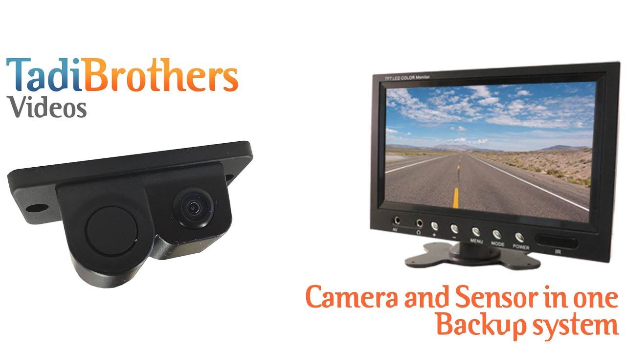 parking sensor and backup camera system combo kit from youtube. Black Bedroom Furniture Sets. Home Design Ideas