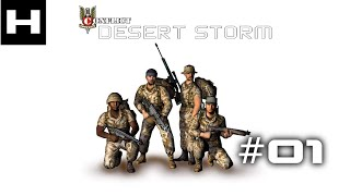 Conflict Desert Storm Walkthrough Part 01 (SAS) [PC]