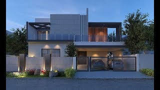 Cute Small Modern House 800 Sft For 8 Lakh | Elevation | Interiors