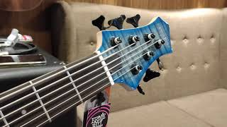 REVIEW SIRE BASS MARCUS MILLER M7 6 STRING,TBL.FLAME MAPLE TOP.