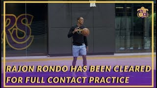 Lakers News: Rajon Rondo Has Been Cleared For Full-Contact Practice