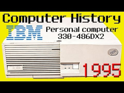 [Computer History EP.1] IBM Personal Computer 330-486DX2 Part I (ENG- SUB ITA)