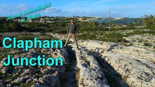 I solchi di carro di Clapham Junction - Tesori archeologici di Malta