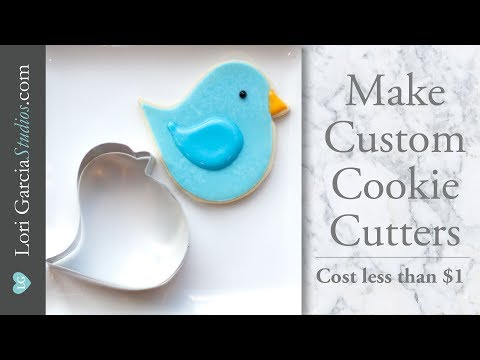 DIY Cookie Cutters - REAL ONES! Less than $1