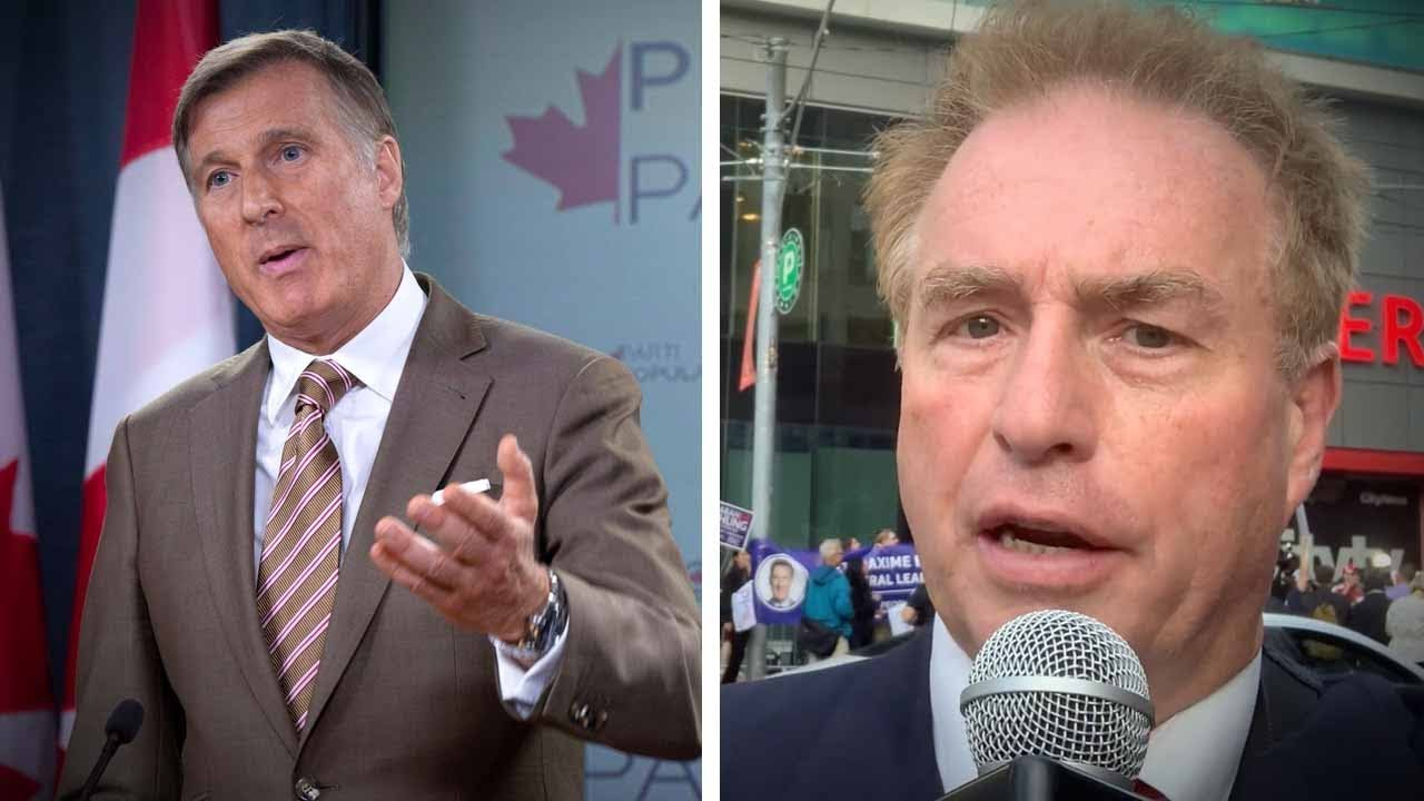 PPC supporters protest Maxime Bernier's exclusion from debates | David Menzies