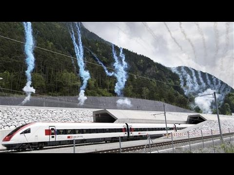World's Longest Rail Tunnel Opens in Switzerland