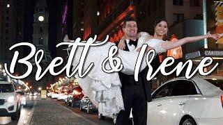 Congratulations Brett & Irene !