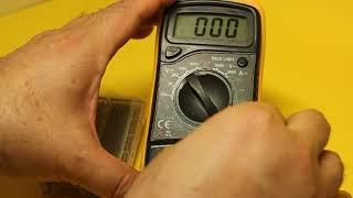 테스터기활용 트랜지스터 검사