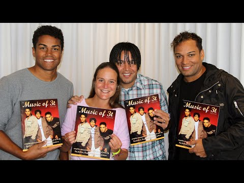 Jackson Source Presents The Music of 3T Magazine to 3T: Taj Jackson, Taryll Jackson & TJ Jackson