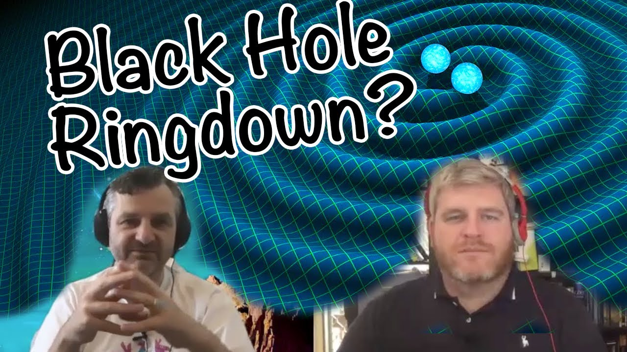 Why do black holes ring?