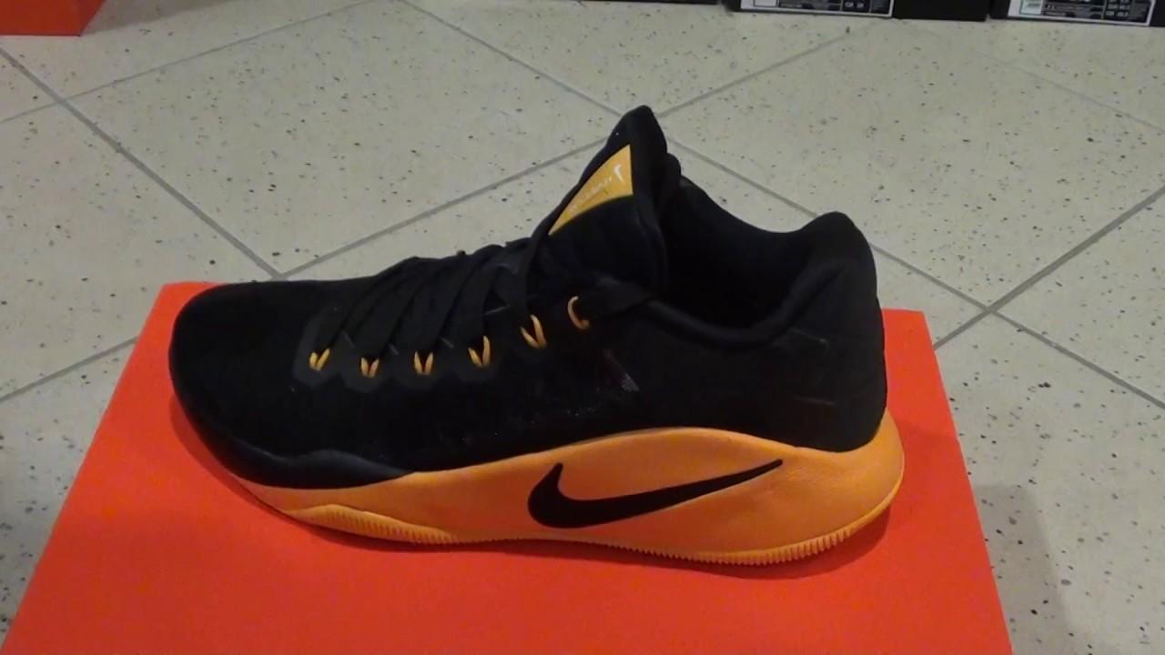 various colors 72adf d3eab Nike Hyperdunk 2016 Low Black Yellow