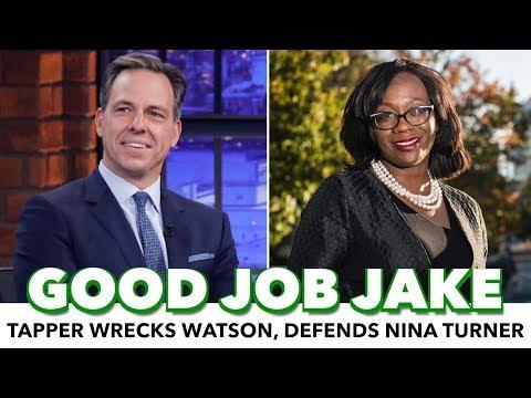 Jake Tapper Wrecks Corporate Shill; Defends Nina Turner