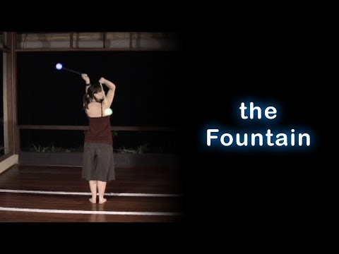 Poi Spinning Tutorial - How to Learn the Fountain (beginner)