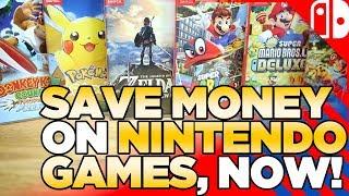 Memorial Day Weekend Nintendo Switch DEALS!