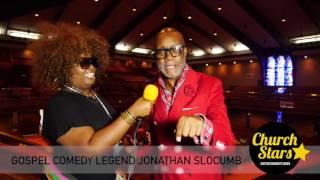 JONATHAN SLOCUMB TALKS TO CHURCH STARS