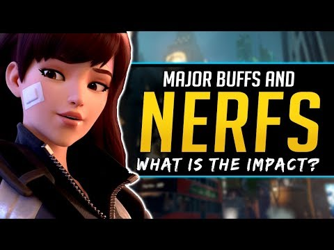 Overwatch BIG Buffs and Nerfs - Dva, Reaper, and more