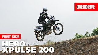 Hero XPulse 200   First Ride Review   OVERDRIVE