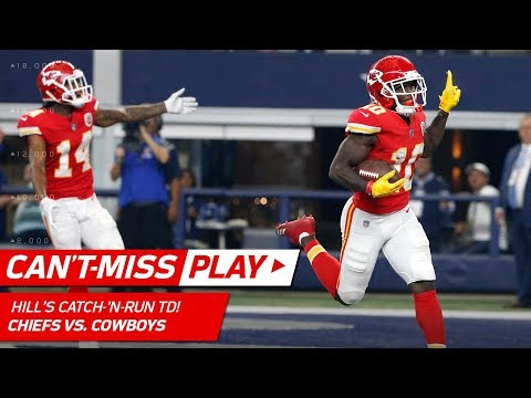An Absolutely Insane TD by Tyreek Hill to End the Half! | Can't-Miss Play | NFL Wk 9 Highlights