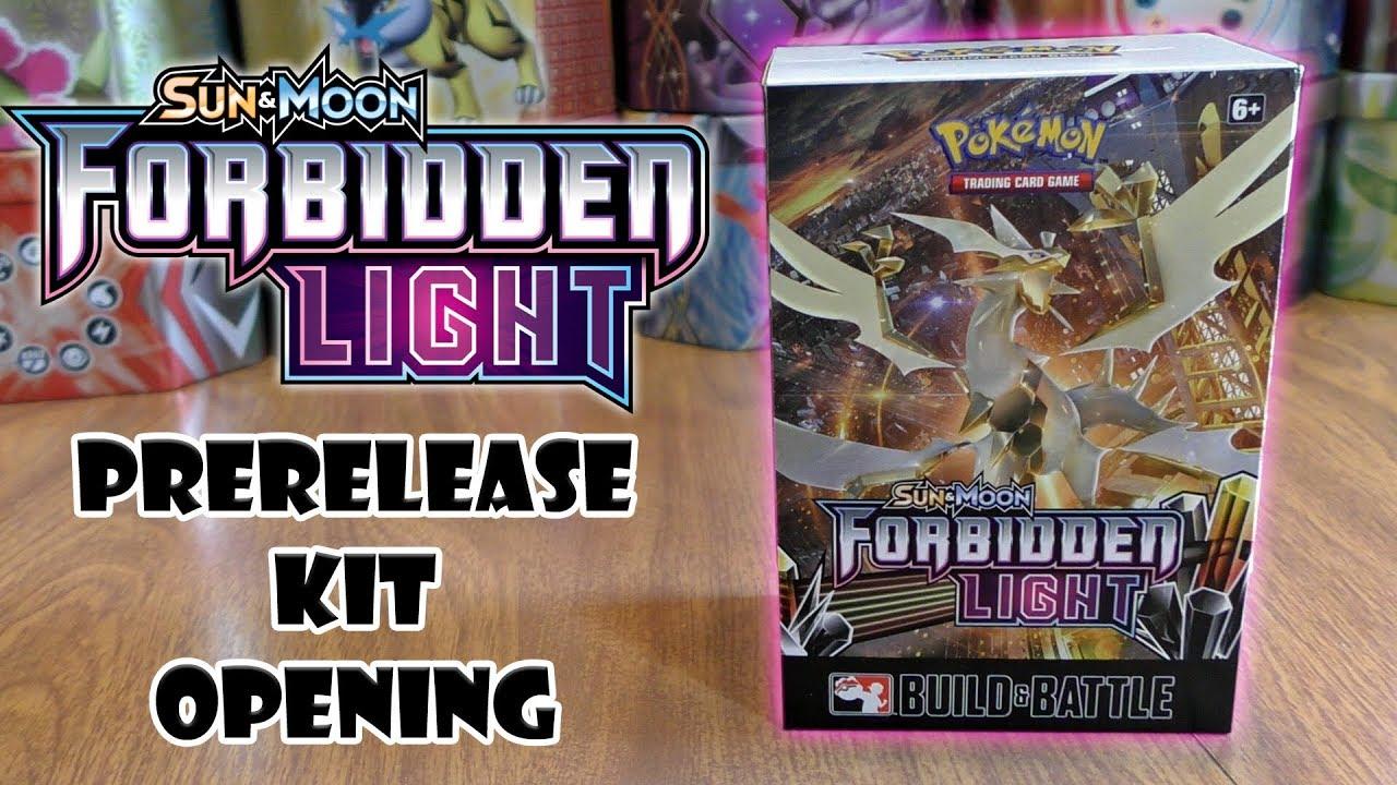 Pokemon TCG Team Up /& Forbidden Light Prerelease Kits 2 Build and Battle Boxes