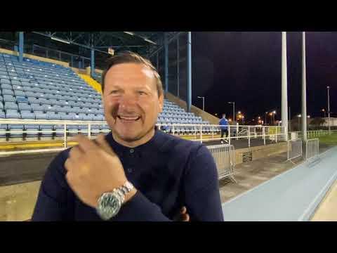 Marc Bircham post match Kilnamanagh AFC - FAI Cup