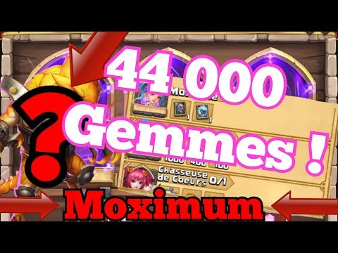 [Castle Clash FR] TIRAGES 44K GEMMES !! +Collecteur De Héros ! (Moximum)