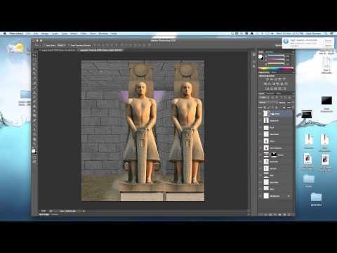 Photoshop Tutorial | Egypt Tomb Tutorial (Intermediate)