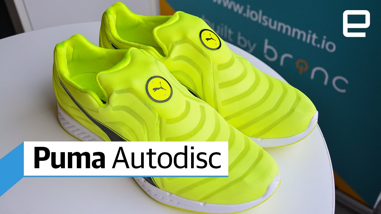 0ab8930956e391 Puma Autodisc self-lacing shoes  Hand s-On - YouTube