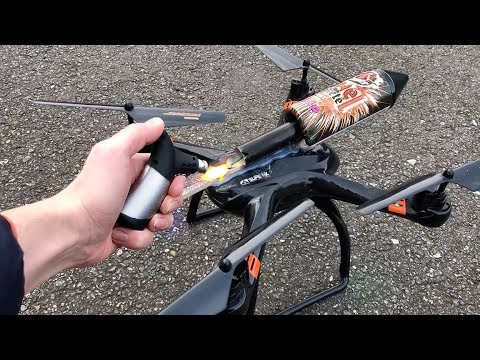 Rocket powered RC Drone !! Amazing Air Launch