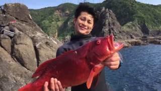 魚突き spearfishing 鹿児島TRIP.