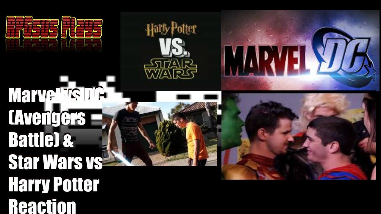RPGsus Reacts #5: Marvel vs DC (Avengers Battle) & Star Wars vs ...