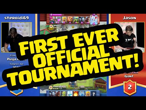 Clash Royale Tournament - Highlights of the FIRST EVER Supercell Clash Royale Tournament!