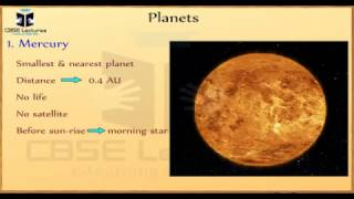 Stars and The Solar System Class 8 Science CBSE Lectures