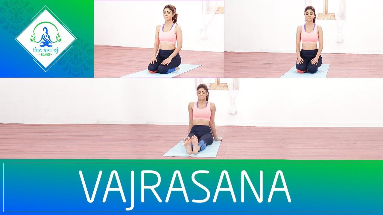 Vajrasana | Shilpa Shetty Kundra | Yoga | The Art Of Balance