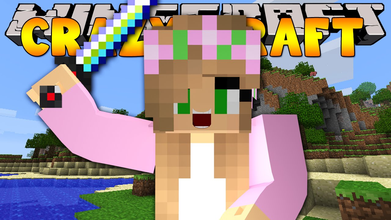 Minecraft crazy craft 3 0 ultimate weapons 10 youtube for Crazy craft 3 0 server