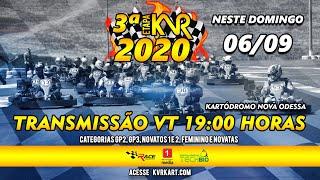 KVR Kart 2020 - 3º etapa em Nova Odessa - Completo