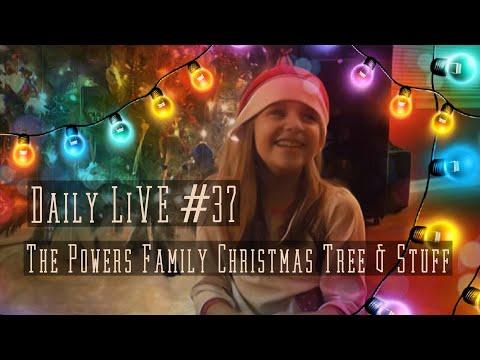 THE POWERS FAMILY CHRISTMAS TREE & STUFF
