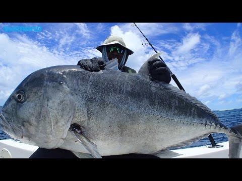 GT fishing in Maldives
