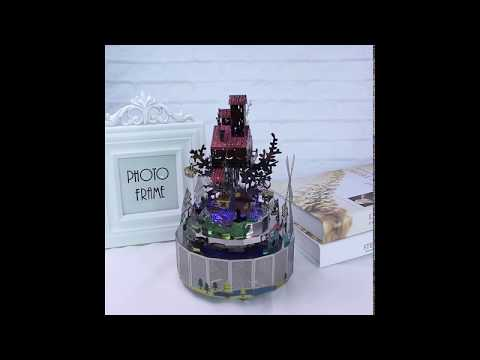 10 theme DIY metal music box to all occasion