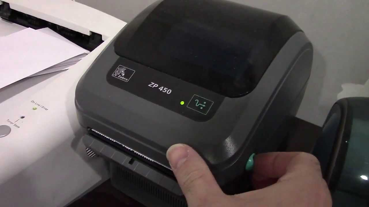 ZEBRA ZP 450 PRINTER DRIVERS PC