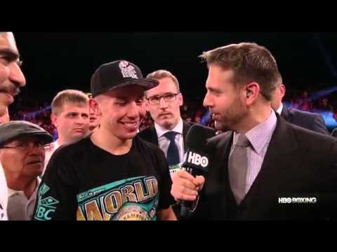 "Gennady Golovkin: ""I Give [Monroe] Chance"" (HBO Boxing)"