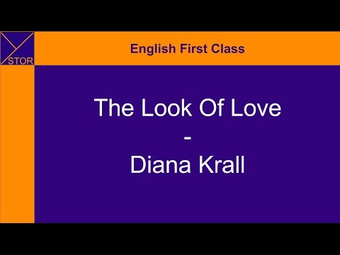 The Look of Love (with lyrics) - Diana Krall (Ystor - EFC)