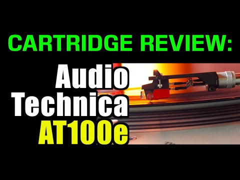 MM Cartridges US$70-80: AudioTechnica AT100e REVIEW