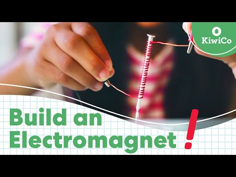 How to Make an Electromagnet with an Iron Nail