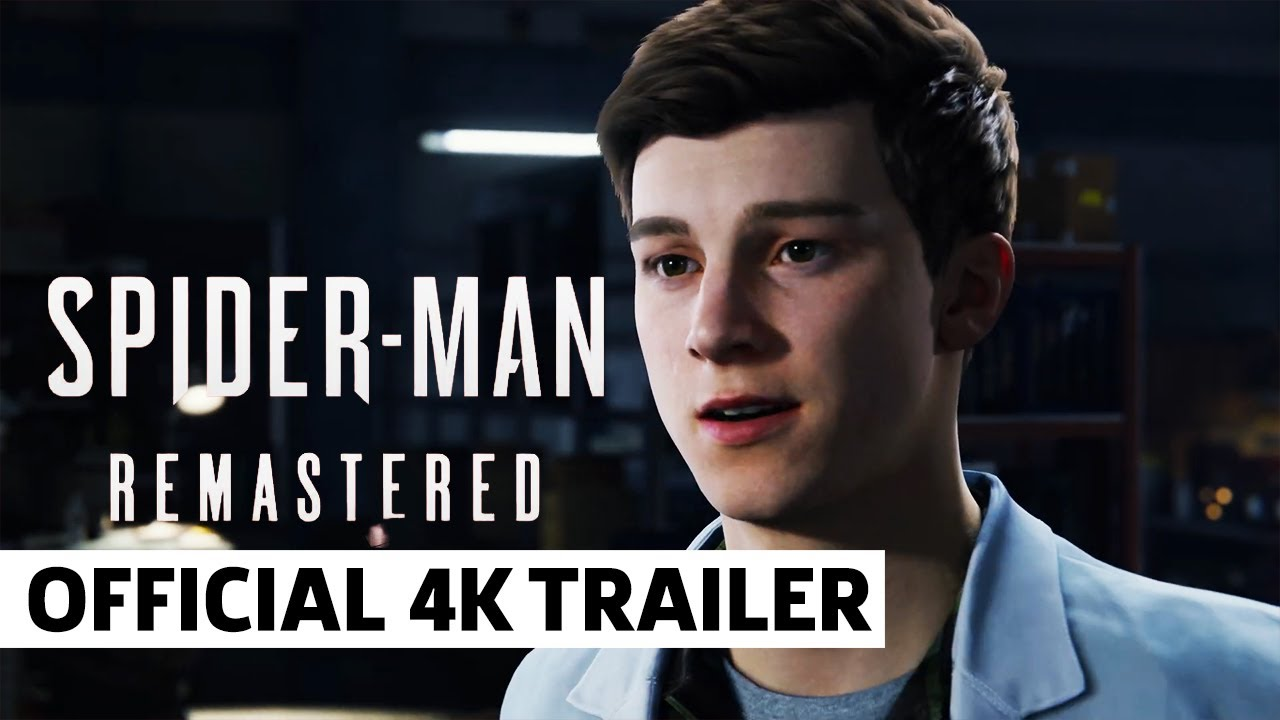 Marvel's Spider-Man Remastered - Official 4K PS5 Trailer - GameSpot