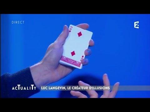Luc Langevin, le créateur d'illusions bluffe Stéphane Freiss et Francis Veber  AcTualiTy