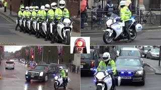 Special Escort Group Compilation - President Obama in London thumbnail