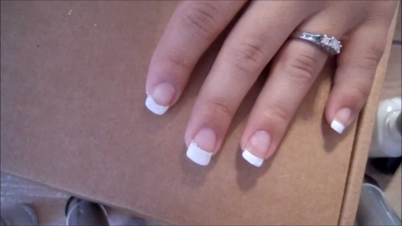 French Manicure: 7 Different ways to create the line! - YouTube