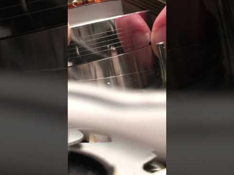 clean vcr head with fingernail
