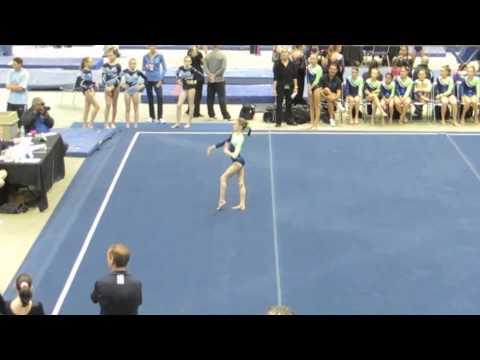 Daytona Beach Open 2013 37.8 AA 1st Place Xcel Gymnastics