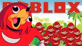 UGANDAN KNUCKLES TRIBE | Roblox Adventures - Roblox Gameplay